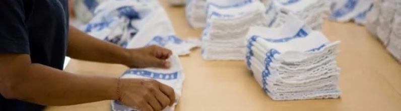 Lavanderia para Lavagem de Uniformes de Fábrica Preço Vila Anastácio - Lavanderia Industrial para Lavagem de Toalhas
