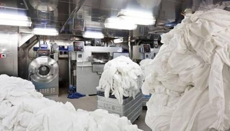 Lavanderias para Lavagem de Lençóis de Hotel Chora Menino - Lavanderia para Hostel