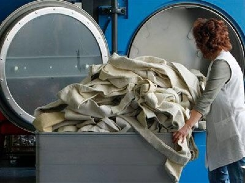Serviço de Lavanderia para Higienização de Luvas Profissionais em São Domingos - Lavanderia Industrial para Lavagem de Toalhas
