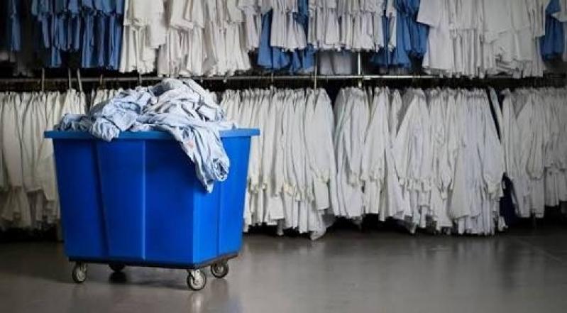 Serviço de Lavanderia para Lavagem de Uniformes de Fábrica Santana - Lavanderia Industrial para Higienização de Luvas