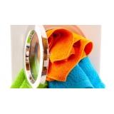 lavagem de toalha de banho preço Brasilândia