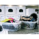 lavanderia com lavagem a seco