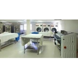lavanderia industrial para lavagem de EPIS Vila Mazzei