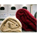lavanderia de roupa de cama