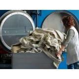 lavanderia para lavagem de lençóis de hotel