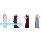 quanto custa lavagem de vestido longo Perus