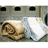 serviço de lavagem de roupa de cama