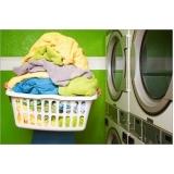 serviço de lavagem de roupa